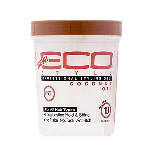 Eco style, Gel cheveux Huile coco 946ml