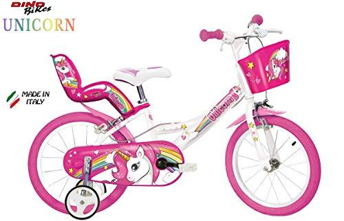 Cicli Puzone Bici 16' Unicorn Dino Bikes Art. 164 R-Un