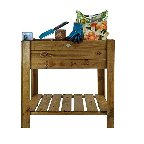 Kit de huerto urbano de madera