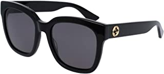 Gucci GG0034S Square Sunglasses For Men For Women+FREE Complimentary Eyewear Care Kit