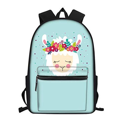 Mochila ligera de la escuela de la bolsa del libro, de la impresión colorida de la nebulosa para los adolescentes muchacho