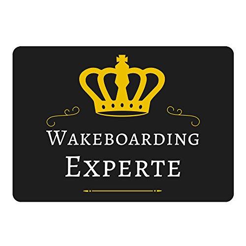 Muismat Wakeboarding Expert zwart