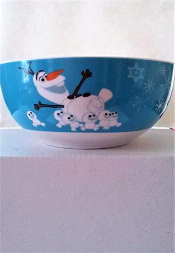 WMF Disney Frozen - Cuenco de desayuno para niños, 13,8 cm, porcelana, apto para lavavajillas, color y alimentos