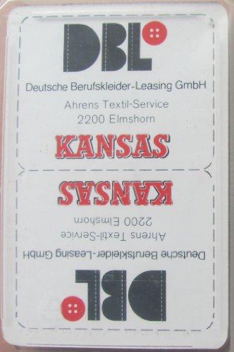 DBL Deutsche Berufsbekleider Leasing Kansas - Skatspiel - Franz. Blatt