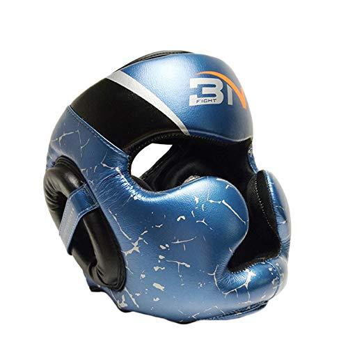 Boxing gloves Cabezal de protección Integral, Casco de Boxeo Impermeable y Resistente al Desgaste, Suave y cómodo, Casco de Seguridad de Microfibra Transpirable, el Mejor Equipo para Principiantes