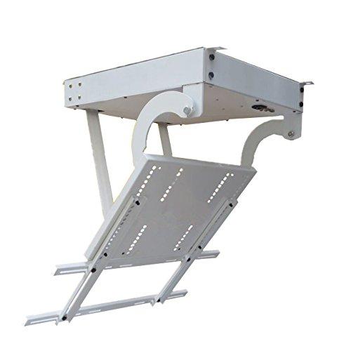 BAOSHISHAN- Colgador o Percha de techo de TV remota de 82 pulgadas Soporte de TV de techo motorizado Soporte de volteo eléctrico Elevador de TV motorizado Posicionamiento electrónico (220V)