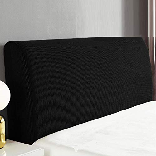 Cubierta De Cabecero Cama Fundas Protectora De Cabecera Cabeza De Cama Color SóLido Elasticidad Cubierta Contra El Polvo Para El Respaldo De La Cabeza De Cama Decora El Dormitorio,F-150X65CM