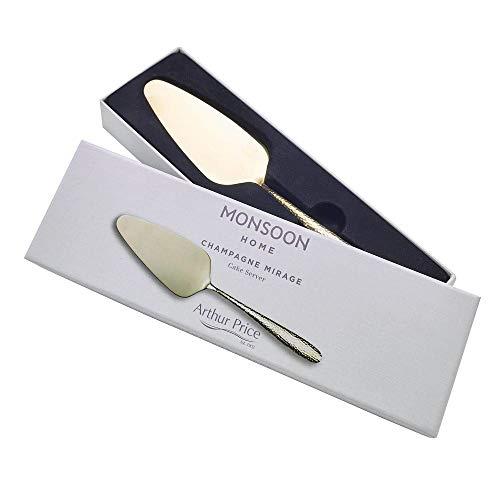 Arthur Price CMIR0181 Champagne Mirage-Paletta per Torte, Acciaio Inossidabile