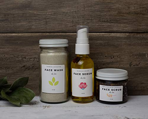 Made On A Sunny Day Oily Skin Face Care Set Acne Treatment Oily