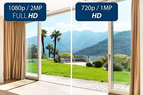 Blaupunkt 5000091 VIO-HP20 TrackCam VIO-HP20-Full-HD Sicherheitskamera mit 360° Smart Tracking, Hören und Sprechen via Gratis App, Push-Nachrichten, 10m IR-Nachtsicht und Privatsphäre-Modus