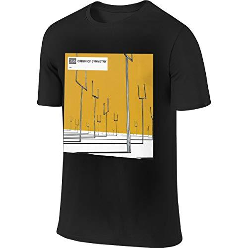 Muse Origin of Symmetry Mans Music Theme Sports T-Shirt S Black