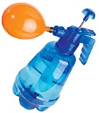 Water Balloon Pump with 250 Balloons Included - 3 in 1 Air and Water Balloon Inflator Filler Super Easy to Use for Summer Days