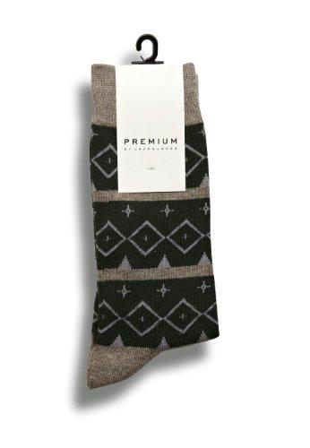 Jack & Jones Premium Chaussettes Dallo Socks, Size:one size;Color:Brindle