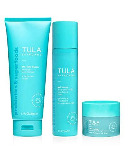 TULA Probiotic Skin Care 3-Step Balanced Skin Bundle Review