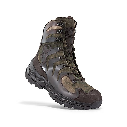 Browning Mens Buck Shadow 8in Big Game Boots, A-TACS FG/Bracken, 13M, F000003590438