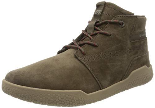 Cat Footwear Herren Hex Mid Hohe Sneaker, braun (Muddy Mud Brown), 43 EU