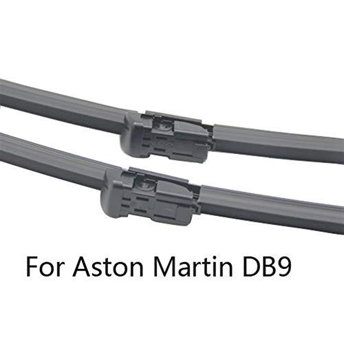 Reemplazo Rascador Rasquetas for Aston Martin DB9 Volante ajuste Push Button armas 2012 2013 2014 2015 (Color : 2012-2015)