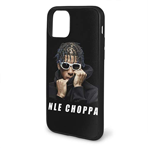 NLE Choppa iPhone 11 Case for Women & Men Fashion iPhone case iPhone 11 Pro Phone Cases Shockproof and Scratch Protective Double Protect iPhone 11-6.1