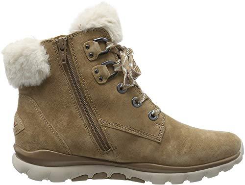 Gabor Shoes Damen Rollingsoft Stiefeletten, Beige (Desert (Webl.) 32), 40 EU