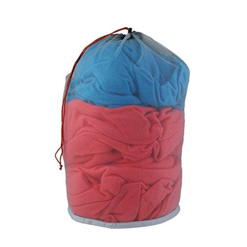 lahomia Bolsa de Almacenamiento de Ropa de Zapatos de Saco de Malla con Cordón para Acampar Al Aire Libre S-XXL - S
