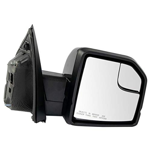 Mirror RH Side Power Heated Memory Turn Signal Puddle Light Compatible with F150