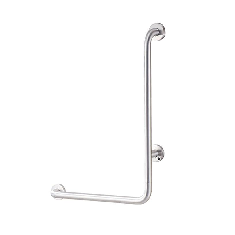 統合黒リマークGWM 浴室304ステンレス鋼L字型手すり高齢者、障害者用手すり浴槽、トイレバリアフリー安全グラブバー/左
