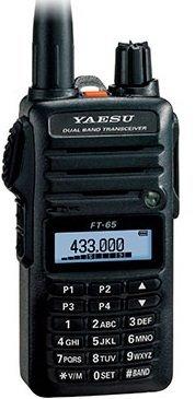 YAESU FT-65 (144/430MHz デュアルバンドFMトランシーバー)