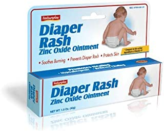 Diaper Rash Cream 40% Zinc Oxide with Aloe