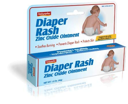NATUREPLEX Diaper Rash Cream for Babies 40% ZINC Oxide with Aloe for Smooth and Healthy Skin