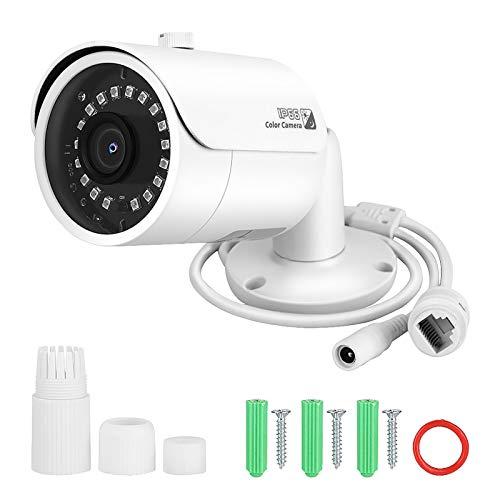 Cámara de Red IP, cámara de Red HD, función de visión Nocturna por Infrarrojos, cámara de Seguridad, cámara IP, cámara IP para Exteriores para Bancos, escuelas, Interiores, Exteriores