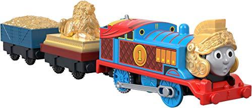 Thomas & Friends  GDV31 Armoured Thomas, Thomas the Tank Engine Motorised Train Engine, Multicolour