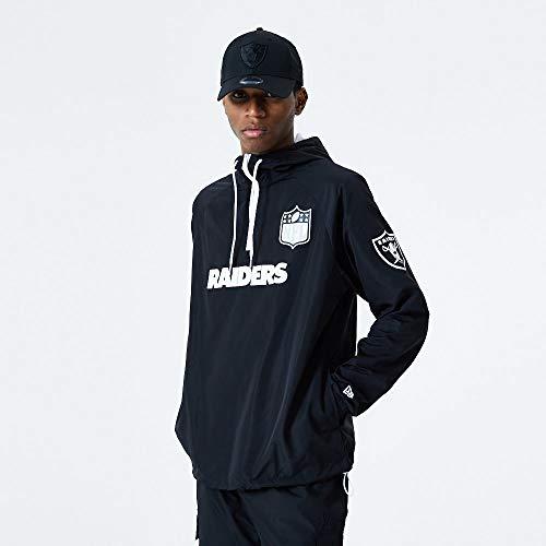 New Era NFL LAS VEGAS RAIDERS Endzone ZIP Windbreaker Jacket, Größe:XXL