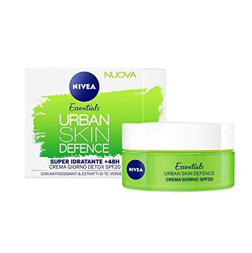 essentials urban skin defence crema giorno detox spf20 50 ml