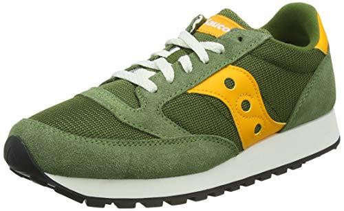 Saucony Jazz Orginal Vintage Green/Mustard, Zapatillas de Atletismo Hombre, 40 EU