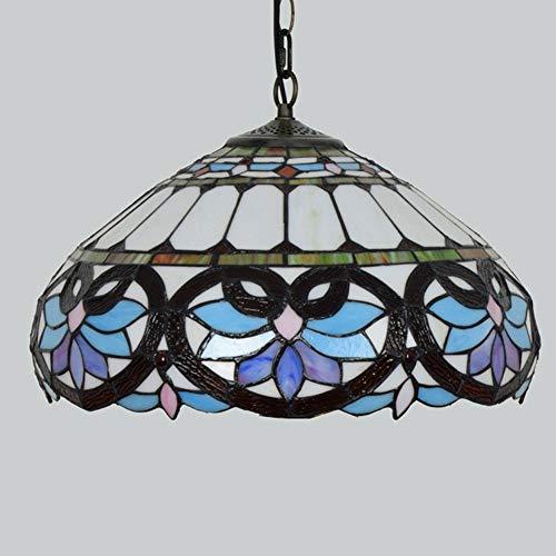 Lámpara de araña Simplelu, luz LED, estilo retro europeo y americano, color sólido, pastoral, pastoral, balcón, restaurante, hotel, estudio, habitación de cristal, caricatura, dormitorio