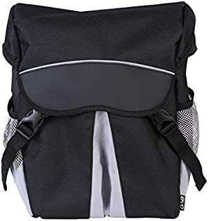 EVO Clutch Panniers for Bicycles - Two Bag Bicycle Set - Mounts to Rear Bike Rack- Easy Removal Bike Saddle Bags