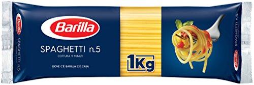 バリラ スパゲッティ1.7mm(No.5) [正規輸入品] 1kg