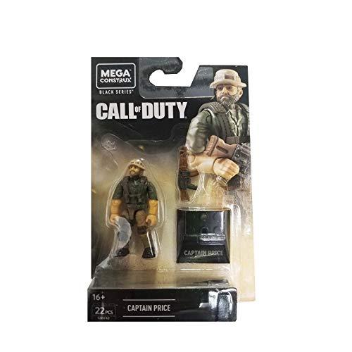 Mega Construx Call of Duty Black Series Captain Price Set de Construction