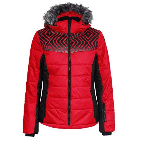 Icepeak VIGEVANO - Damen Skijacke in rot, Gr. 42