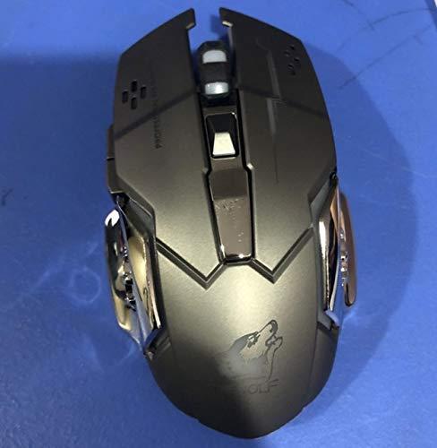 Rechargeable X8 Wireless Silent LED Backlit USB Optical Ergonomic Mouse PC Computer Mouse for Imac Pro Macbook/laptop (Color : C)