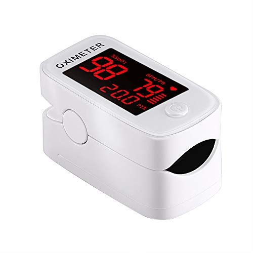 Alician Portable Pulse Oximeter LED Spo2 Blood Oxygen Heart Rate Monitor Household Health Electronics