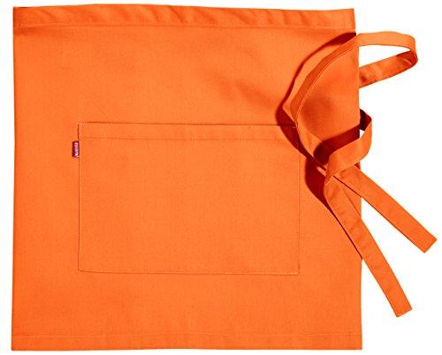 Velilla 404201/C16/TU Delantal corto, Naranja