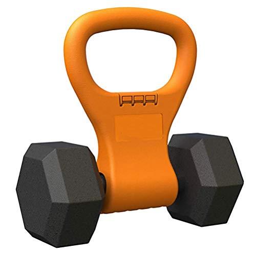 Kugelhantel-Griff, verstellbare Klemmen an Hanteln, tragbarer Griff, für Reisen, Fitness, Workout-Ausrüstung für Wasserkocher, Fitnessstudio, Gewichtstasche, Bodybuilding