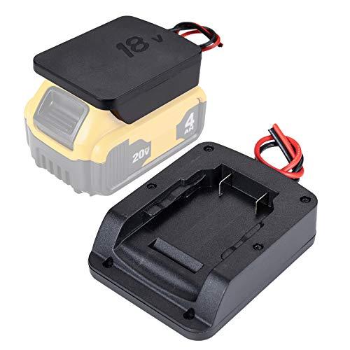 2 pack Power wheels adaptor for 20V dewalt Battery 18V dewalt dock power connector 12 gauge robotics