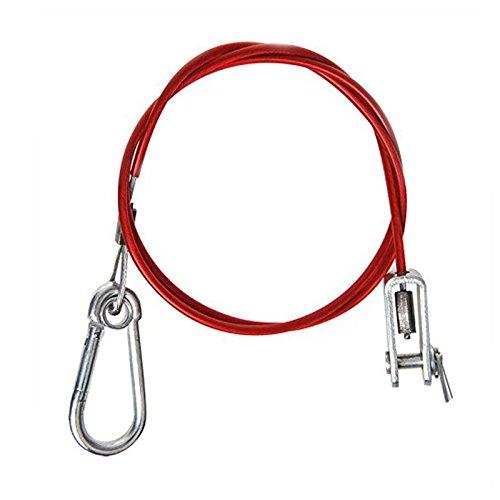 Sicherheitskabel für Anhänger für Williams-Handbremse mit Gabelkopf-Stift, Sicherheitsbremse