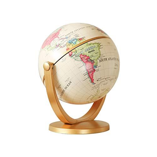 CROSYO 1 stück 720 Grad rotierender Retro World Globe Erde antike Home offizielle Desktop dekor geographie pädagogische Spielzeug Kinder Geschenk schreibwaren