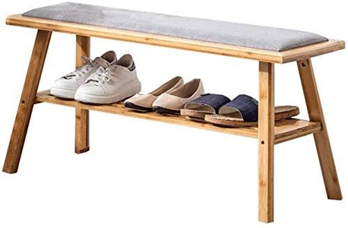 Ranuras de Zapato Ajustables Organizador Bastidores de Zapatos Estante de Zapatos Banco Zapato Rack Multiuso Hogar Shoe Rack Dormitorio Sala de Estar Almacenamiento Rack Zapato Estante Almacenamiento