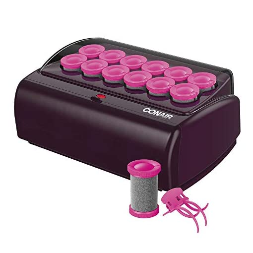 - 41UCXLSflLL - Conair Express Waves & Volume Hot Rollers, Jumbo 1 1/2″ Hot Rollers, NEW COLOR & DESIGN