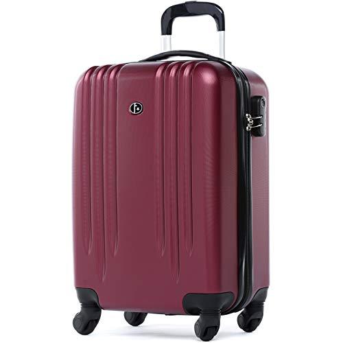FERGÉ set di 3 valigie viaggio Marsiglia - bagaglio rigido dure leggera...