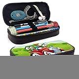 YOLOP - Astuccio portapenne con doppia cerniera, per scuola e ufficio